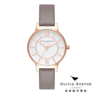 オリビアバートン レディース 時計 腕時計 日本正規総代理店 Olivia Burton ワンダーランド ロンドン グレー ローズゴールド オリビアバートン 日本正規総代理店 記念日 ギフト プレゼント 新生活 贈り物 時計