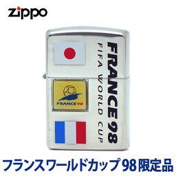 欧州 サッカー Zippo zippo ジッポ ジッポー フランス サッカーワールドカップ 98 限定品 (B) FIFA WORLD CUP FRANCE 1998 zippoレギュラー 【1】 az 【RCP】