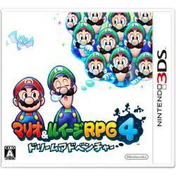 マリオ&ルイージRPG4 【あす楽対象】 任天堂 マリオ&ルイージRPG4 ドリームアドベンチャー【3DSゲームソフト】
