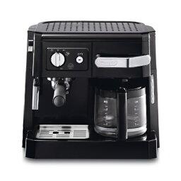 デロンギ コーヒーメーカー 【送料無料】 デロンギ ≪エスプレッソマシン兼用≫コーヒーメーカー BCO410J-B ブラック[BCO410J]