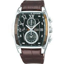 セイコー アルバ 腕時計(メンズ) 【送料無料】 アルバ WIRED(ワイアード) 「リフレクション トノー型クロノグラフモデル」 AGAV039
