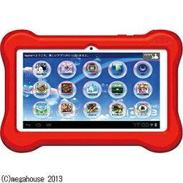 子供用パソコン 【あす楽対象】【送料無料】 メガハウス Kids tablet tapme(キッズタブレット タップミー) レッド