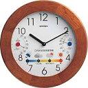 温湿時計 【送料無料】 エンペックス BW-5058 温湿度計 [アナログ][BW5058]