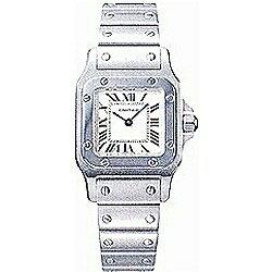 カルティエ サントスガルベ 腕時計(レディース) 【送料無料】 カルティエ サントス(Santos) ガルベ SM SS レディース W20056D6
