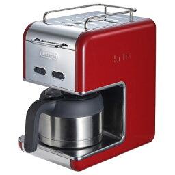 デロンギCMB6 【送料無料】 デロンギ ケーミックスドリップコーヒーメーカープレミアム CMB5T-RD レッド[CMB5T]