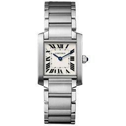 カルティエ タンク フランセーズ 腕時計(メンズ) 【送料無料】 カルティエ タンクフランセーズ WSTA0005