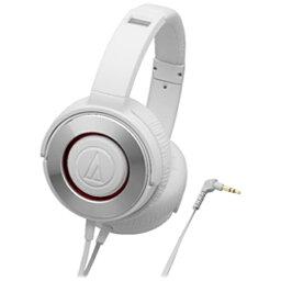 オーディオテクニカ オーディオテクニカ audio-technica ヘッドホン WH ホワイト ATH-WS550 [φ3.5mm ミニプラグ][ATHWS550WH]
