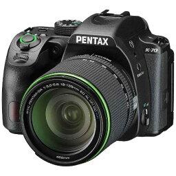 ペンタックス リコー RICOH PENTAX K-70 デジタル一眼レフカメラ 18-135WR レンズキット ブラック [ズームレンズ][K70レンズキットBK]