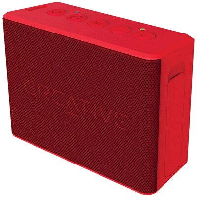 クリエイティブメディア CREATIVE SP-MV2C-RD ブルートゥース スピーカー Creative MUVO 2c レッド [Bluetooth対応 /防水][SPMV2CRD]