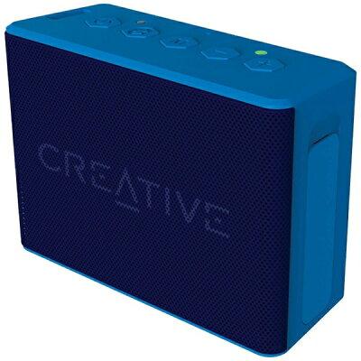 クリエイティブメディア CREATIVE SP-MV2C-BU ブルートゥース スピーカー Creative MUVO 2c ブルー [Bluetooth対応 /防水][SPMV2CBU]