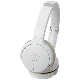 オーディオテクニカ オーディオテクニカ ブルートゥースヘッドホン ATH-AR3BT WH ホワイト・シャンパンゴールド [マイク対応 /Bluetooth][ATHAR3BTWH]