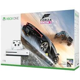 X box マイクロソフト Microsoft Xbox One S(エックスボックスワン エス) 1TB(Forza Horizon 3 同梱版) [ゲーム機本体][XBOXONES1TBフォツァドウコン]