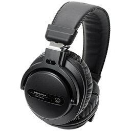 オーディオテクニカ オーディオテクニカ audio-technica ヘッドホン ATH-PRO5X BK ブラック [φ3.5mm ミニプラグ][ATHPRO5XBK]