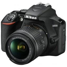 nikon ニコン Nikon D3500 デジタル一眼レフカメラ 18-55 VR レンズキット ブラック [ズームレンズ][D3500LK]