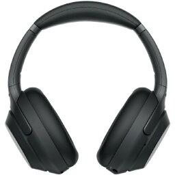 ソニー ソニー SONY ブルートゥースヘッドホン ブラック WH-1000XM3 [リモコン・マイク対応 /Bluetooth /ハイレゾ対応 /ノイズキャンセリング対応][ワイヤレス ヘッドホン WH1000XM3BM]
