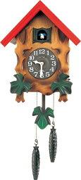 鳩時計 RHYTHM リズム時計 クロック 掛け時計 鳩時計 カッコークロック カッコーメルビルR 4MJ775RH06 (4MJ775-A06の新モデル)
