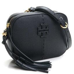 トリーバーチ ポシェット トリーバーチ TORY BURCH McGraw ミニ クロスボディ ポシェット カメラバッグ 64447 001 BLACK ブラック レディース ladies bag ブランド brand バック 新品