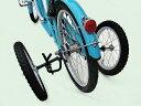 """倒れない自転車 """"倒れない""""自転車になる大人用補助輪<20インチ>"""