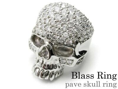 \6月25日限定!全品P10倍/Binich(ビニッチ) パヴェスカルリング メンズ 指輪 メンズ ジルコニア ブラス[真鍮]