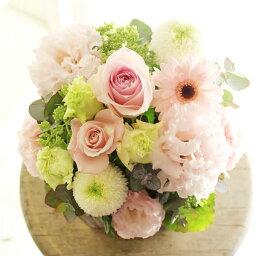 ブライダル アレンジメントフラワーSサイズ Girlishness(ピンク系)※デザイナーが手がけるお洒落な一品誕生日 バースディ 妊娠 出産祝い 結婚記念日 ブライダル 婚約 贈り物 フラワーギフト プレゼント お祝い お花 送料無料 メッセージカード無料 あす楽