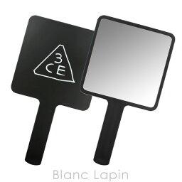 3CE 手鏡・ハンドミラー スリーコンセプトアイズ 3CE スクエアハンドミラー #BLACK [990315]