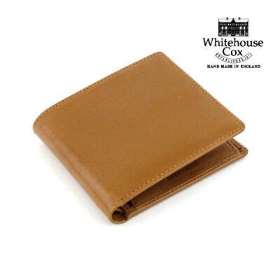 """【ホワイトハウスコックス Whitehouse Cox】ブライドルレザー 二つ折り財布 """"NC/COIN CASE""""・S7532-1831802【メンズ】【レディース】【JP】【小物】"""