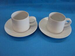 白山陶器 【白山陶器】 M型ペアコーヒーセット  はなまる   【白山陶器】★業務用としてもお薦めの商品です」 お誕生日、結婚祝い、引き出物 白山陶器通販 白磁