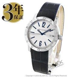 ソロテンポ 腕時計(メンズ) ブルガリ ブルガリブルガリ ソロテンポ アリゲーターレザー 腕時計 メンズ BVLGARI BB39C6SLD_3