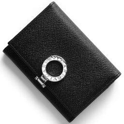 ブルガリ 名刺入れ(メンズ) ブルガリ BVLGARI カードケース ブルガリブルガリ 【BB】 ブラック 30420 メンズ レディース