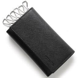 プラダ キーケース(メンズ) 【X'masSALE】プラダ キーケース メンズ SAFFIANO ブラック 2PG222 053 F0002 PRADA
