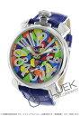ガガ ミラノ 腕時計(メンズ) ガガミラノ マヌアーレ48MM モザイク 腕時計 メンズ GaGa MILANO 5010.MOSAICO1S