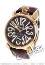 ガガ ミラノ 腕時計(メンズ) ガガミラノ マヌアーレ48MM 腕時計 メンズ GaGa MILANO 5011.01S