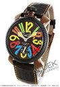ガガ ミラノ 腕時計(メンズ) ガガミラノ マヌアーレ48MM リミテッドエディション 腕時計 メンズ GaGa MILANO 5016.EDA05PMOF