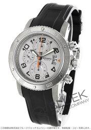 エルメス クリッパー 腕時計(メンズ) エルメス クリッパー クロノ メカニカル ダイバーズ クロノグラフ 腕時計 メンズ HERMES CP2.941.220/1C1