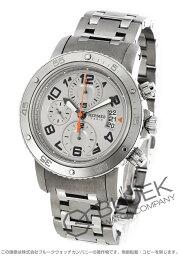 エルメス クリッパー 腕時計(メンズ) エルメス クリッパー クロノ メカニカル ダイバーズ クロノグラフ 腕時計 メンズ HERMES CP2.941.220/4963