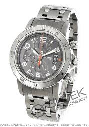 エルメス クリッパー 腕時計(メンズ) エルメス クリッパー クロノ メカニカル ダイバーズ クロノグラフ 腕時計 メンズ HERMES CP2.941.230/4963
