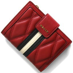 バリー 二つ折り財布 メンズ バリー 二つ折り財布 財布 メンズ レディース ダッセン ロッソレッド DASSEN QT 206 6236143 BALLY