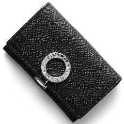 ブルガリ ブルガリ コインケース【小銭入れ】 財布 メンズ ブルガリブルガリ レザー ブラック 33749 BVLGARI