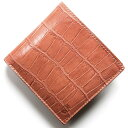 フェリージ 二つ折り財布 メンズ フェリージ 二つ折り財布 財布 メンズ レディース クロコ型押し カードケースセット ローザアンティークピンク 452 SA 0019 FELISI
