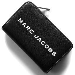 マークジェイコブス 二つ折り財布(メンズ) 【X'masSALE】マークジェイコブス 二つ折り財布 財布 メンズ レディース ザ タグ ブラック M0014869 001 2019年春夏新作 MARC JACOBS