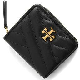 トリーバーチ 二つ折り財布 レディース トリーバーチ 二つ折り財布 財布 レディース キラ シェブロン ブラック 56820 001 TORY BURCH