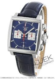 タグホイヤー モナコ 腕時計(メンズ) タグホイヤー モナコ クロノグラフ アリゲーターレザー 腕時計 メンズ TAG Heuer CBL2111.FC6453