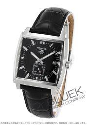 タグホイヤー モナコ 腕時計(メンズ) タグホイヤー モナコ アリゲーターレザー 腕時計 メンズ TAG Heuer WAW131A.FC6177