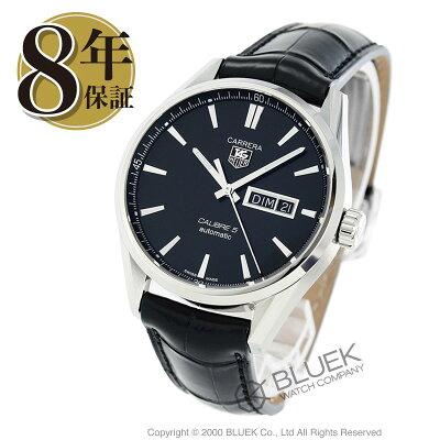 タグホイヤー カレラ アリゲーターレザー 腕時計 メンズ TAG Heuer WAR201A.FC6266_8