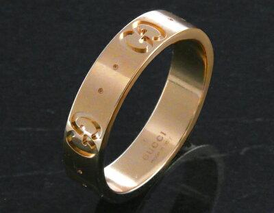 グッチ リング【指輪】 アクセサリー ボーイズ GGアイコン ピンクゴールド 152045 J8500 5702 GUCCI