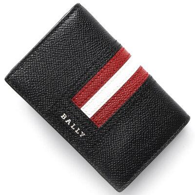 バリー カードケース メンズ タイク TYKE ブラック TYKELT 10 6218025 BALLY