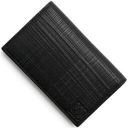 ロエベ 名刺入れ ロエベ カードケース メンズ レディース リネン 【LINEN】 ENGRAVED ブラック 101 88 1100 L56 LOEWE
