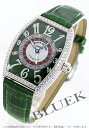 フランクミュラー 腕時計(メンズ) フランクミュラー FRANCK MULLER ヴェガス ダイヤ 金無垢 クロコレザー メンズ 5850 VEGAS D