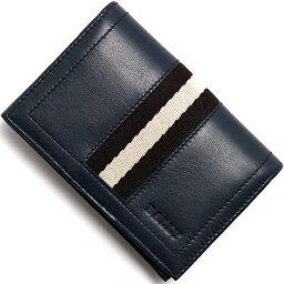 バリー バリー BALLY カードケース【名刺入れ】 TOBEL ニューブルー TOBEL 517 メンズ