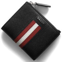 バリー 二つ折り財布 メンズ バリー 二つ折り財布 財布 メンズ レディース トゥナー ブラック TUNNER LT 10 6229036 BALLY